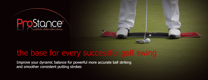 ProStance - the base for every successful golf swing